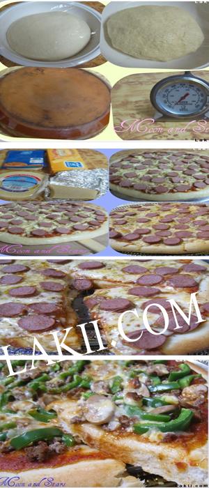 اسرار البيتزا المنزليه0