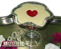 قلب من الجلي - أفكار لتزيين وتقديم الأطباق