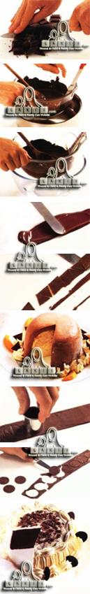 قطع نقدية ومثلثات بالشوكولا Na2od